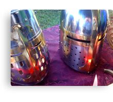 Red Helms Canvas Print