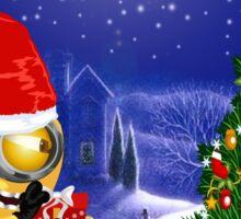 Christmas Eve  Banana welcome Sticker