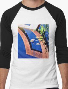 Water Lily Reflection Pool Men's Baseball ¾ T-Shirt
