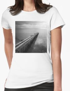 the break water 03 Womens Fitted T-Shirt