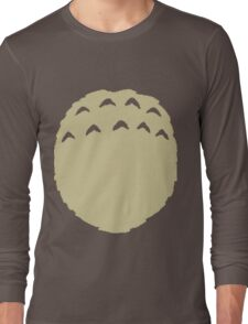 Totoro belly Long Sleeve T-Shirt