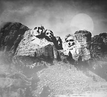 Rushmore at Night by peaky40