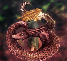 Dragonborn by Petra van Berkum