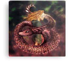 Dragonborn Metal Print