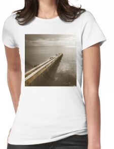 the break water 06 Womens Fitted T-Shirt