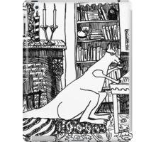 Kangaroo in the Library iPad Case/Skin