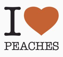 I ♥ PEACHES Kids Clothes