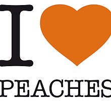 I ♥ PEACHES by eyesblau
