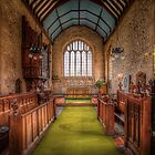 The Church of St Kenelm in Minster Lovell.  by ArthakkerHDR
