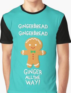 Gingerbread Graphic T-Shirt