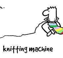 Nosebody - Knitting Machine by CarollLewis