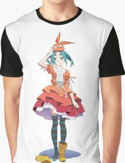 Yotsugi Ononoki from Bakemonogatari  Graphic T-Shirt