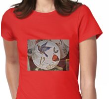 A Partridge In A Pear Tree Womens Fitted T-Shirt