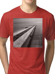 the break water 04 Tri-blend T-Shirt