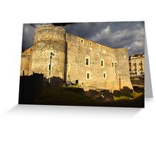 Ursino Castle Greeting Card