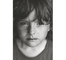 Children aren't coloring books. You don't get to fill them with your favorite colors. Photographic Print
