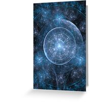 Cosmos Background Greeting Card