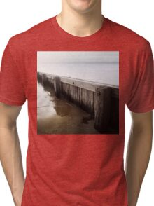 the break water 02 Tri-blend T-Shirt