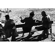 Copacabana Conversations Photographic Print