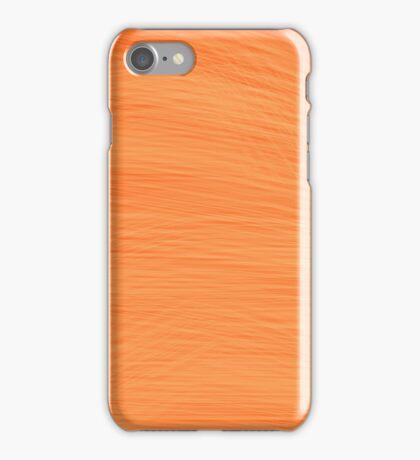 Orange Brush iPhone Case/Skin