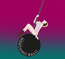 Miley Cyrus - Wrecking Ball by nelson92