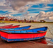 Boating Lake by Roger Green