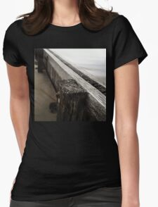 the break water 01 Womens Fitted T-Shirt