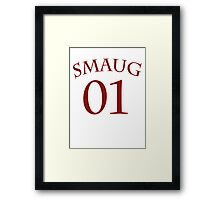 SMAUG 01 Framed Print