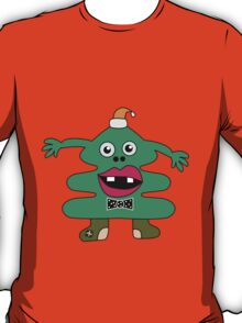 New Year Tree Cute Monster T-Shirt