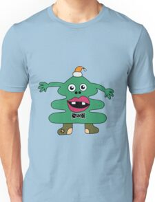 New Year Tree Cute Monster Unisex T-Shirt