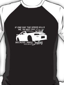 Paul Walker Sig. Tribute GTR - White T-Shirt