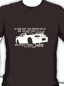 Paul Walker Sig. Tribute GTR - White T-Shirt
