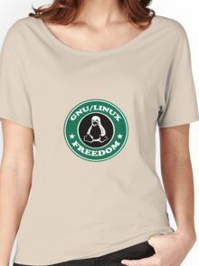 GNU/Linux Women's Relaxed Fit T-Shirt