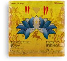 Manipura Chakra Canvas Print