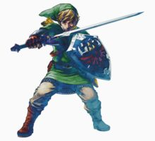 Link with sword 5 by Hyruler