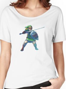 Link with sword 5 Women's Relaxed Fit T-Shirt