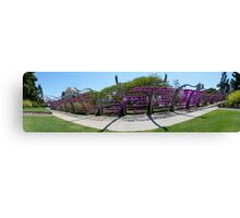 South Bank Arbour panorama Canvas Print