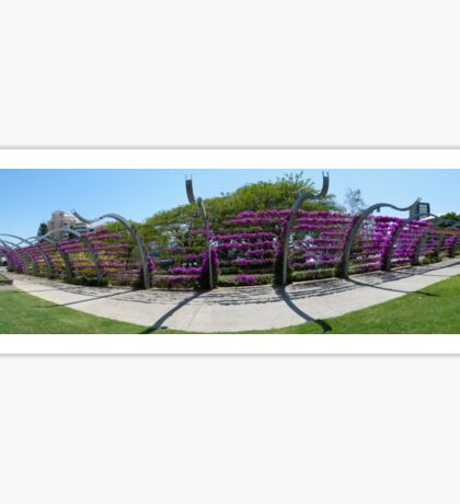 South Bank Arbour panorama Sticker