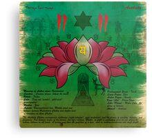 Anahata Chakra Metal Print