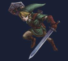 Link with sword Kids Tee