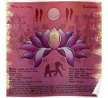 Vishuddhi Chakra Poster