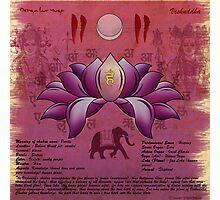 Vishuddhi Chakra Photographic Print
