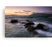 Western Shores, Maui Canvas Print