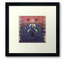 Ajna Chakra Framed Print