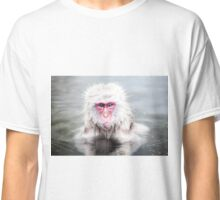 Snow Monkey - Jigokudani Monkey Park, Japan Classic T-Shirt