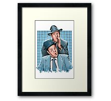 Abbott & Costello - Comic Timing Framed Print