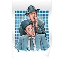 Abbott & Costello - Comic Timing Poster