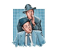 Abbott & Costello - Comic Timing Photographic Print