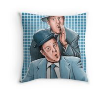 Abbott & Costello - Comic Timing Throw Pillow
