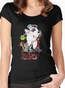Busting Time Women's Fitted Scoop T-Shirt